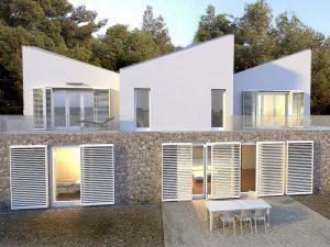 Family houses design