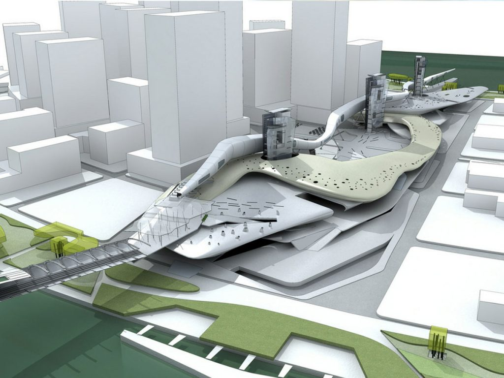 Urban area planning