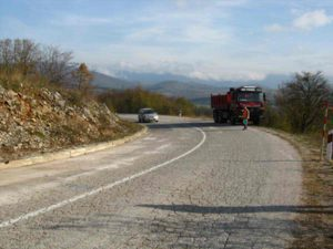 Technical supervision of works for rehabilitation of state road