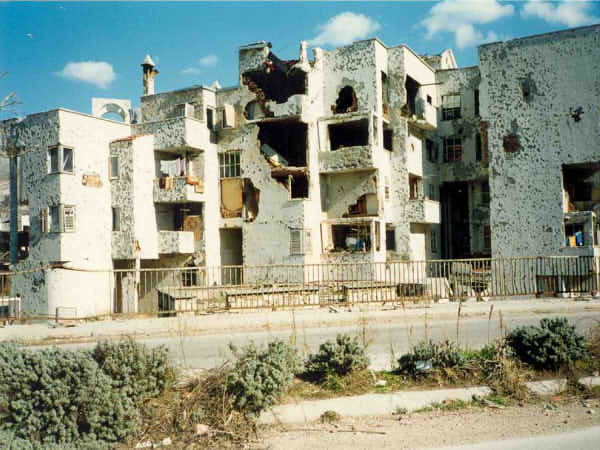 Evaluation of war damages in city of Mostar