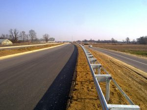 Road bypass installation relocation