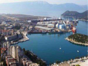 Cargo terminal construction