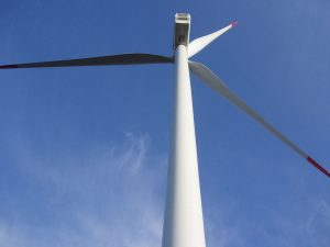 Supervision of works on wind farm