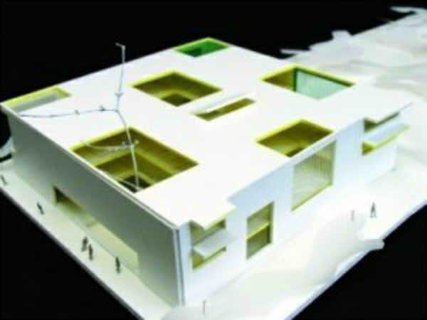 Construction of elementary school and kindergarten