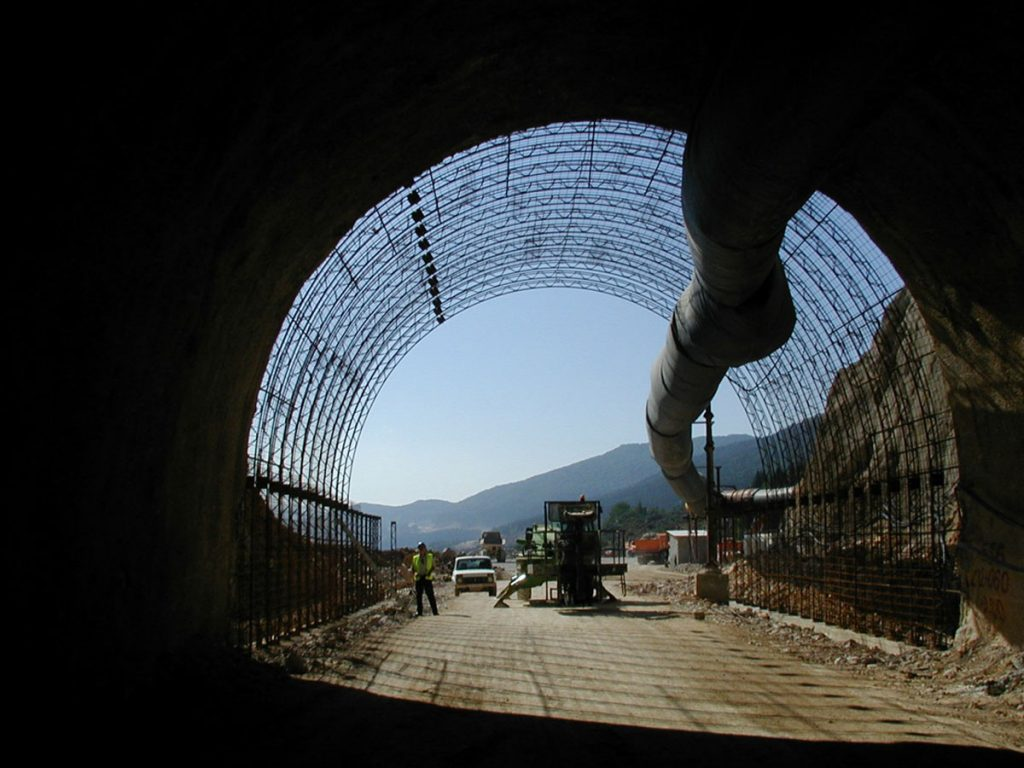 Engineering supervision of tunnel construction