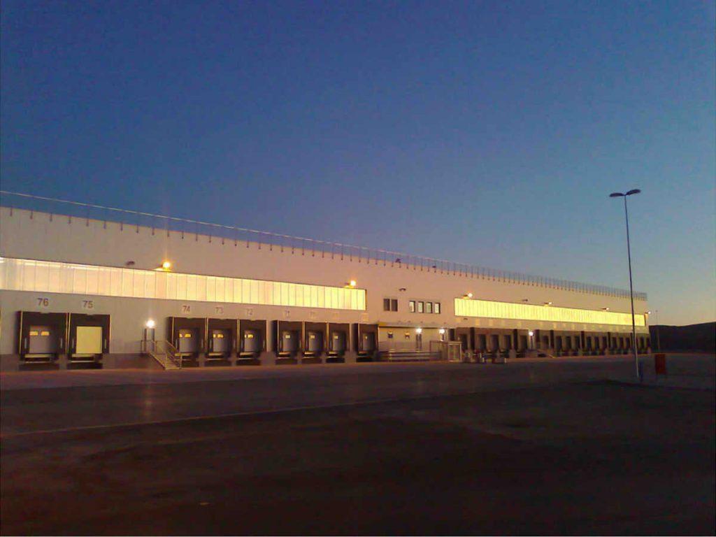 Nadzor nad građenjem skladišno distributivnog centra