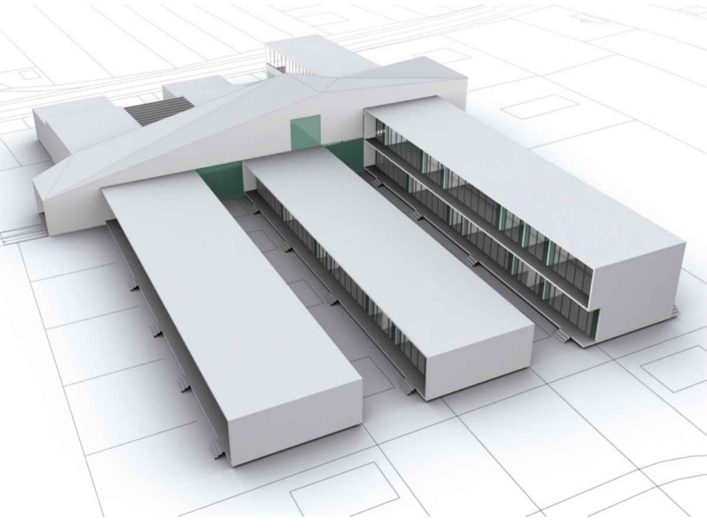 Architectural planning of an elementary school