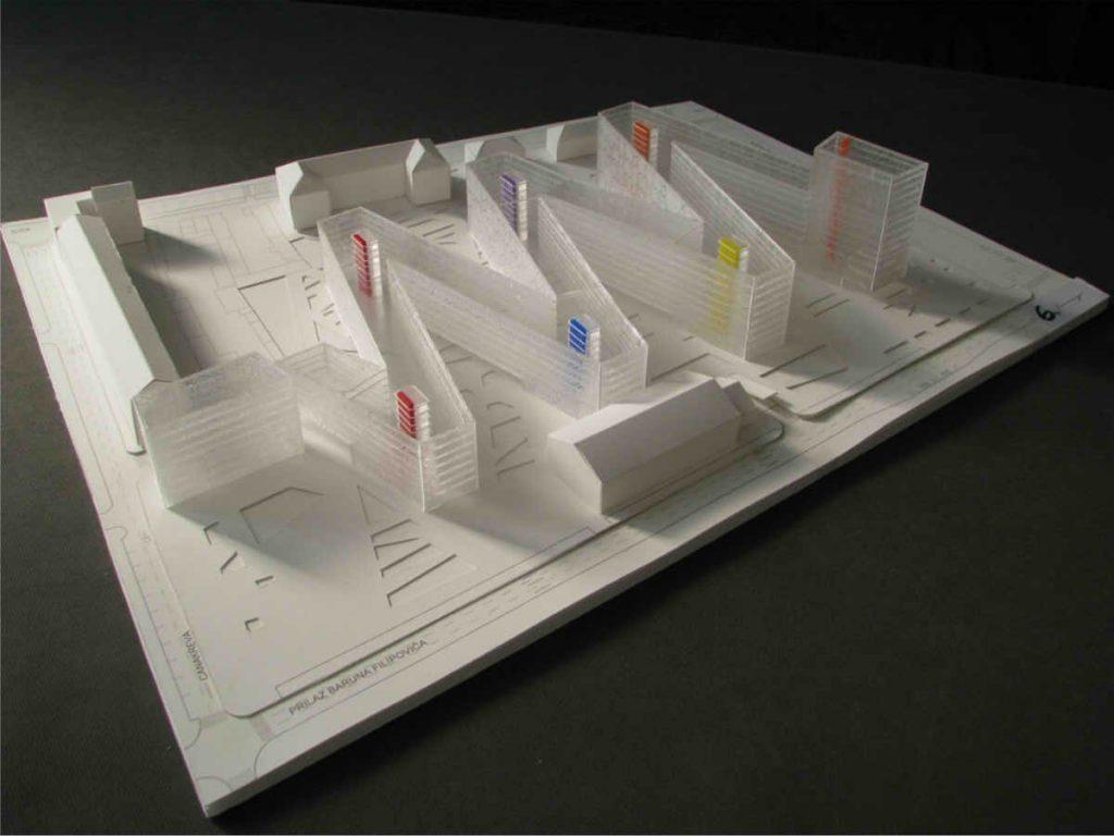 Projektiranje izgradnje trga