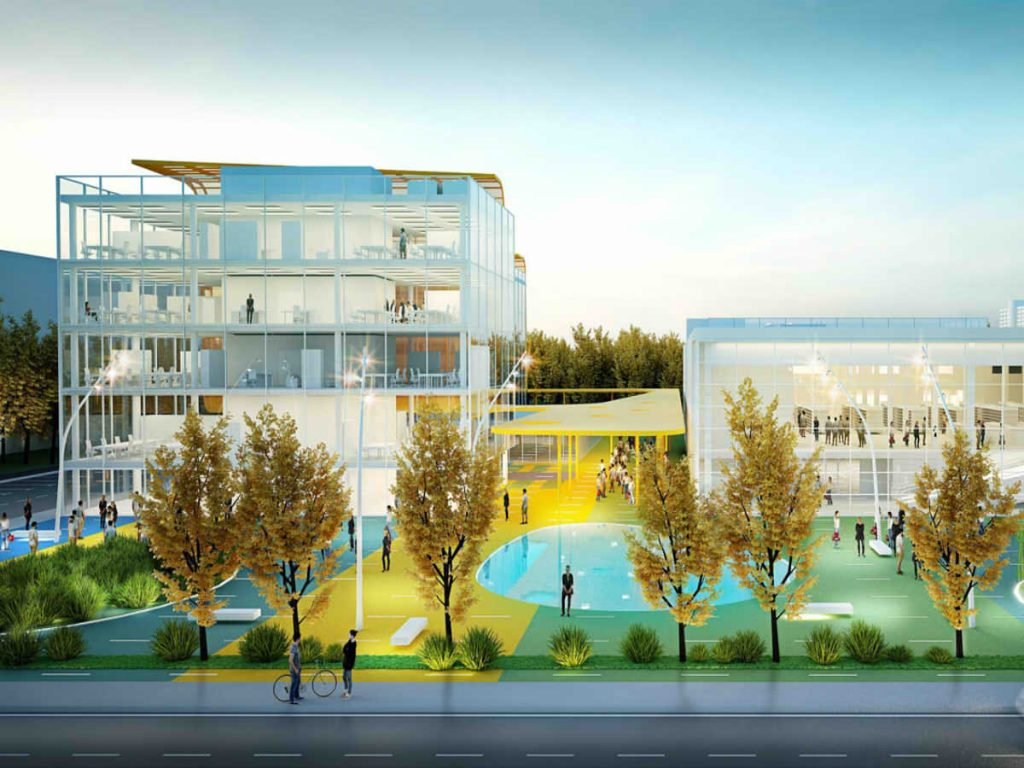 Design for the mixed use complex