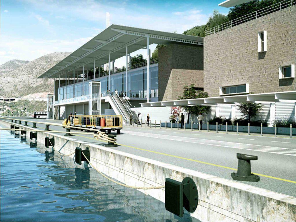Cruise ship terminal planning