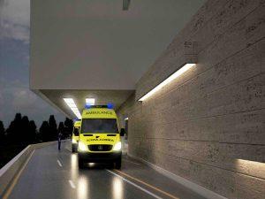 Usluga projektiranja nove zgrade za hitnu medicinu