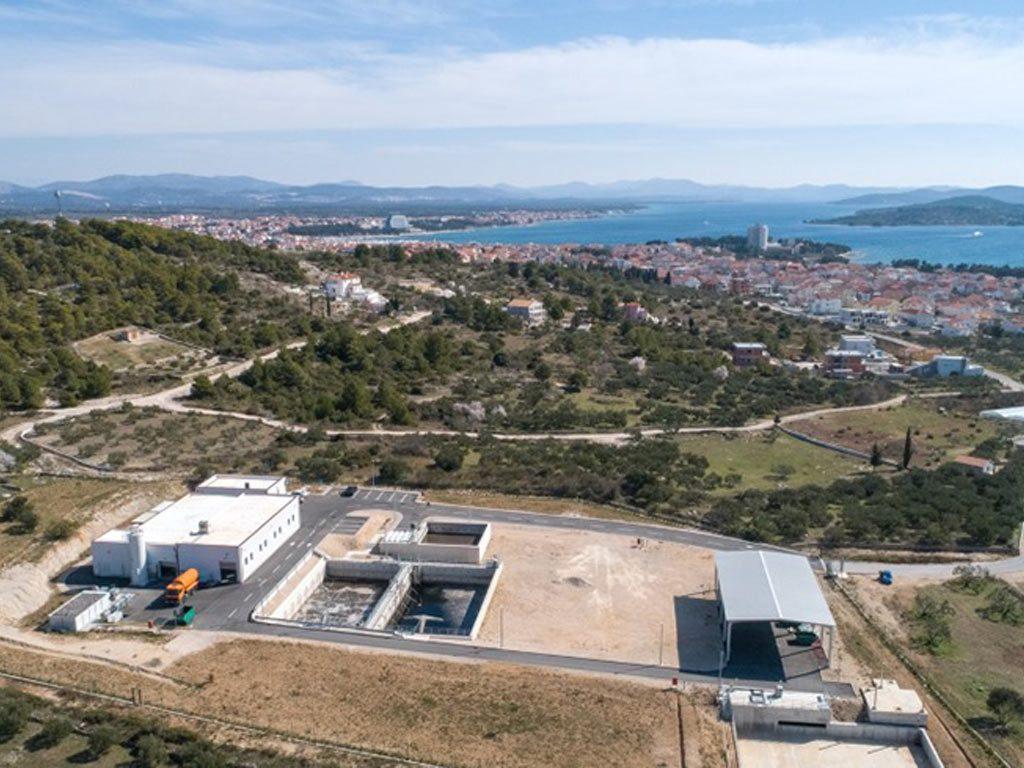 Projekt izgradnje pročistača otpadnih voda u Vodicama