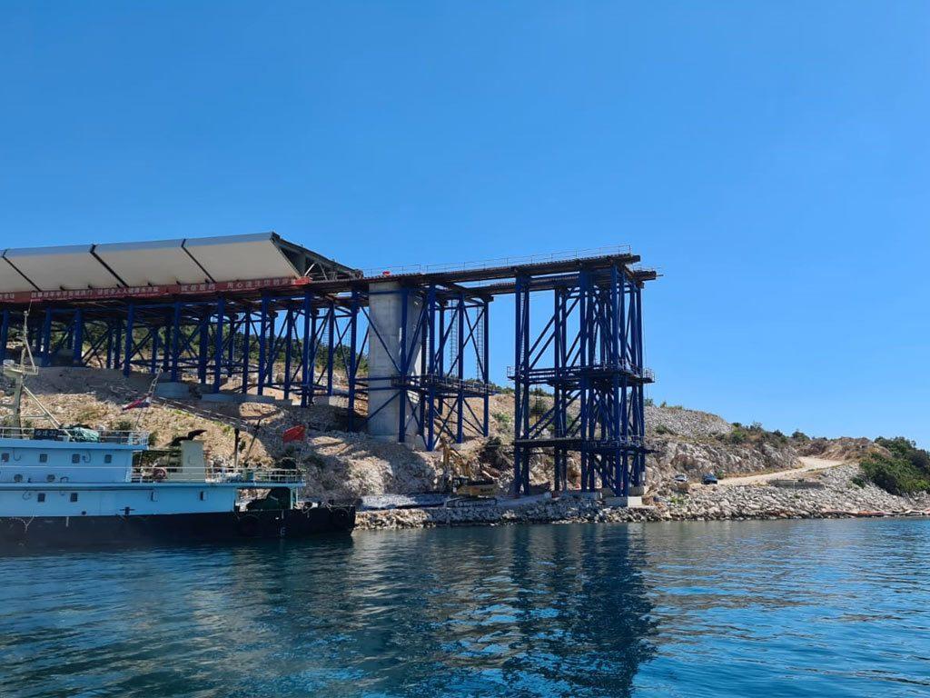 Stručni nadzor gradnje Pelješkog mosta