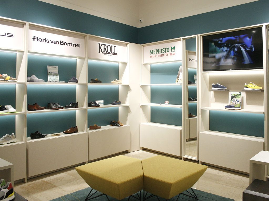 Dizajn interijera dućana Q Shoes u Ilici